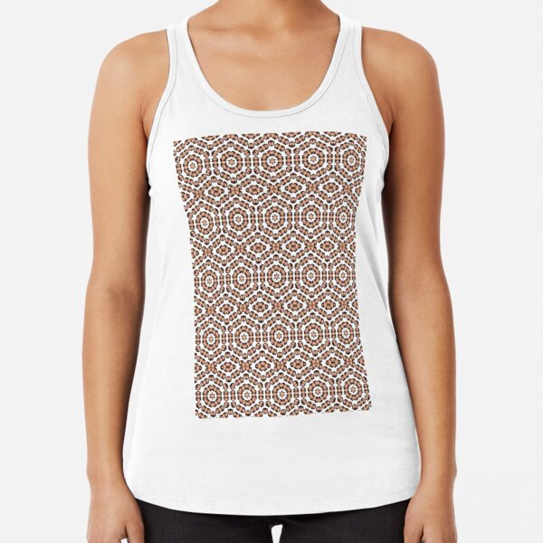 pattern, design, tracery, weave, decoration, motif, marking, ornament, ornamentation, #pattern, #design, #tracery, #weave, #decoration, #motif, #marking, #ornament, #ornamentation Racerback Tank Top