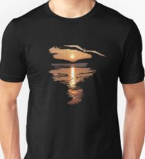 Flying seagull  Unisex T-Shirt