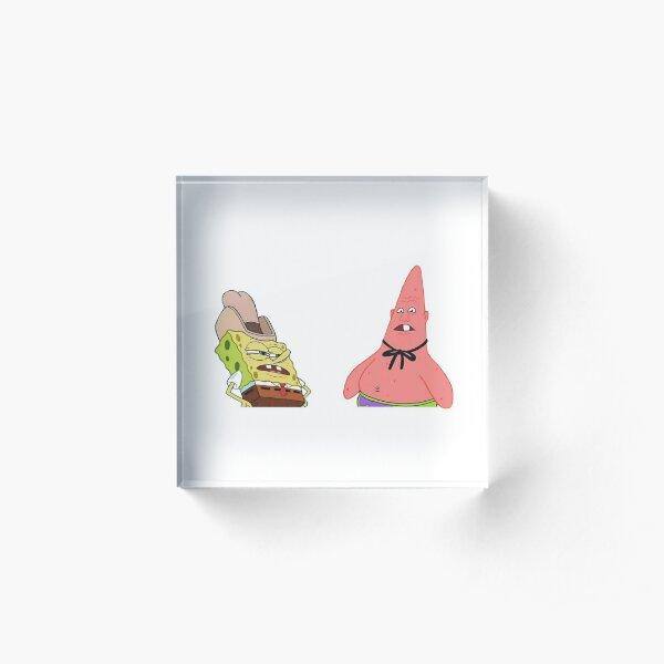 Dirty Dan and Pinhead Larry Acrylic Block