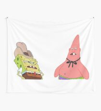 Dirty Dan and Pinhead Larry Wall Tapestry