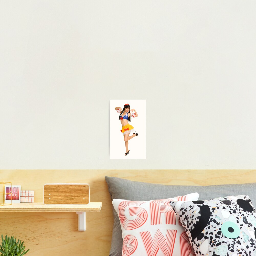 Pinup Photographic Print