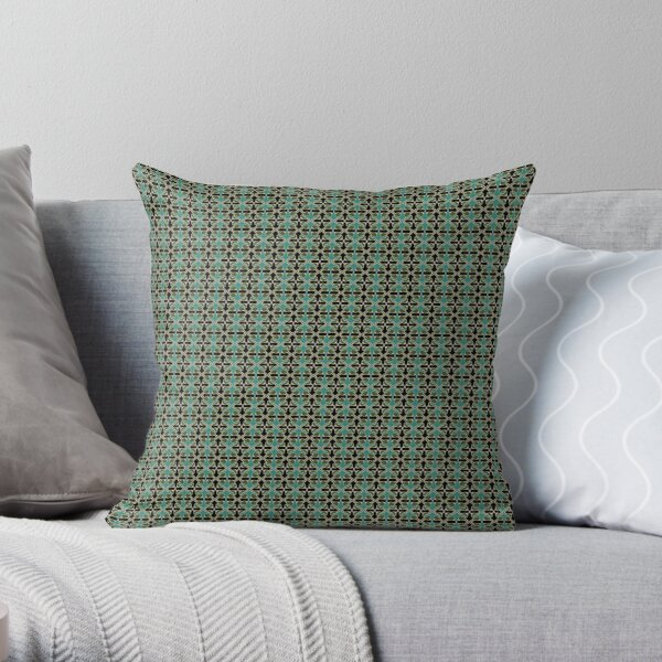 handsome guy pattern Throw Pillow