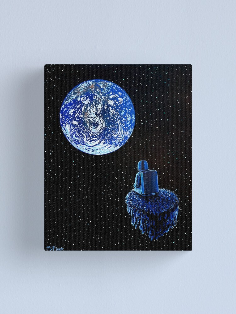 Alternate view of The Human Show Canvas Print