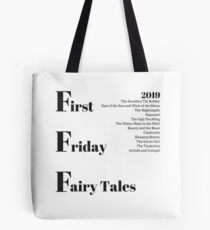 First Friday Fairy Tales 2019 Graphic Tote Bag