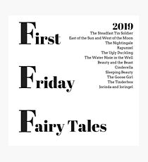 First Friday Fairy Tales 2019 Graphic Photographic Print