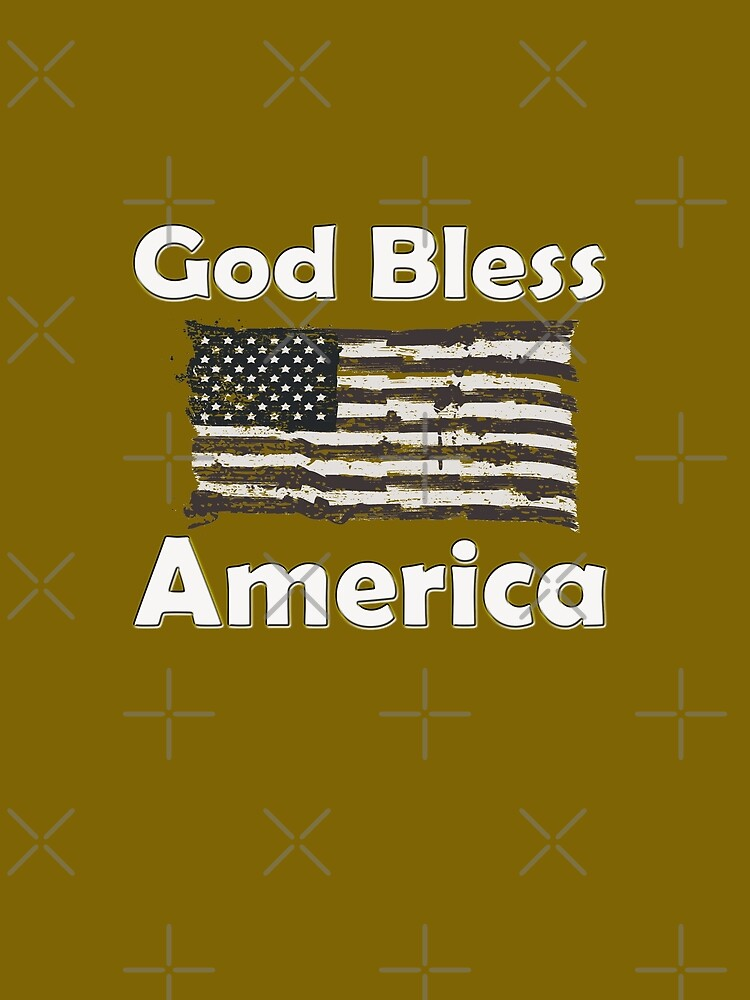 God Bless America  by STdesigns