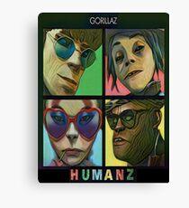 Gorillaz - Humanz Canvas Print