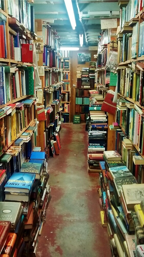 Bookshop by clarebearhh