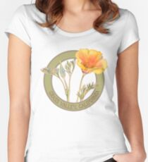 Grass Valley Poppy Women's Fitted Scoop T-Shirt