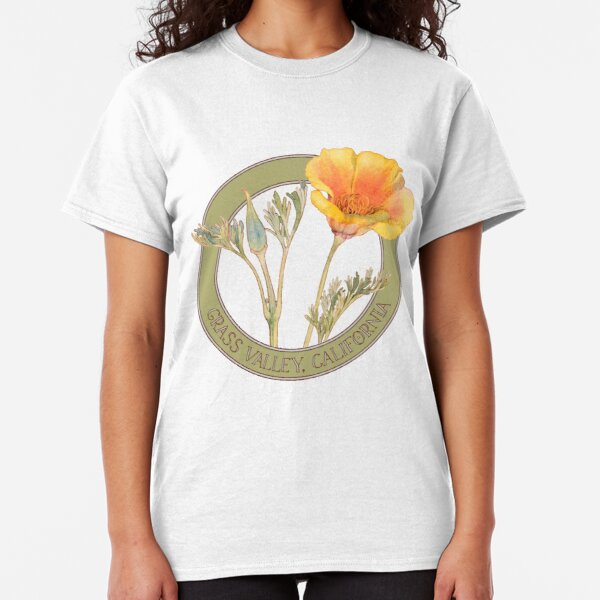 Grass Valley Poppy Classic T-Shirt