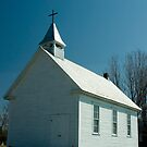 The Church, Lost Villages, Cornwall, Ontario by Mike Oxley