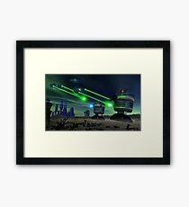 Alien Attack 1 Framed Print