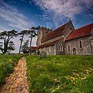 St Andrew Beddingham by Dave Godden