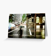 Sydney Downpour Greeting Card