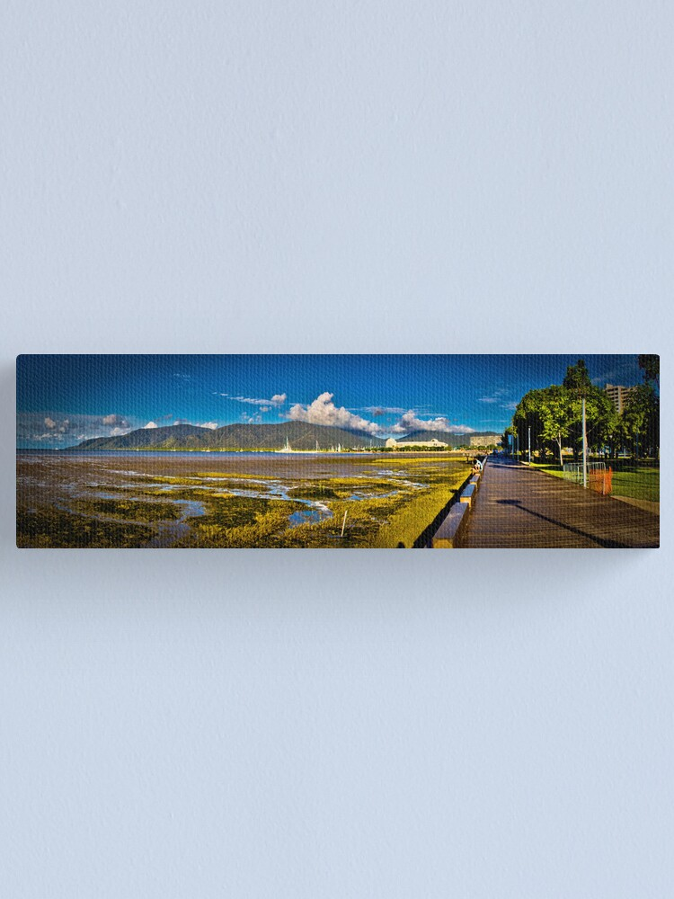 Alternate view of Cairns Forshore Canvas Print