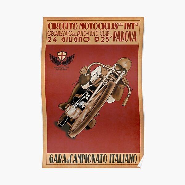 Italian Motorcycle Championship Race Poster