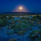 Great Basin Super Moon by Owed To Nature