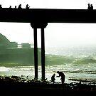 Ocean Beach Pier silos by milton ginos