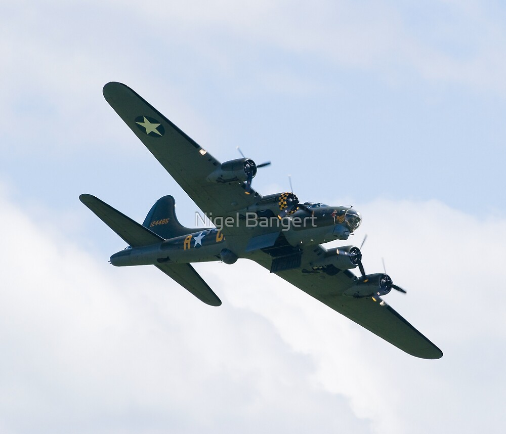 Boeing B-17 Flying Fortress by Nigel Bangert