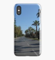 A street in Mersin iPhone Case/Skin