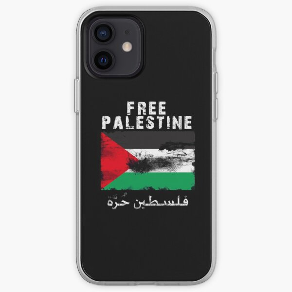 Vintage Free Palestine T shirts & Gifts iPhone Soft Case