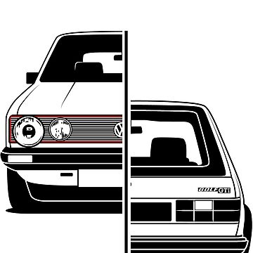 Golf Mk1 GTI Best Shirt Design by CarWorld