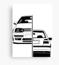 Golf Mk3 GTI Best Shirt Design Canvas Print
