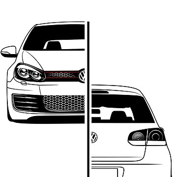 Golf Mk6 GTI Best Shirt Design by CarWorld