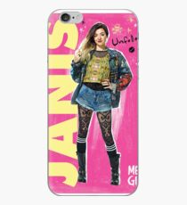 Janis Mean Girls the Musical - with background iPhone Case