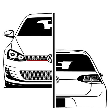Golf Mk7 GTI Best Shirt Design by CarWorld