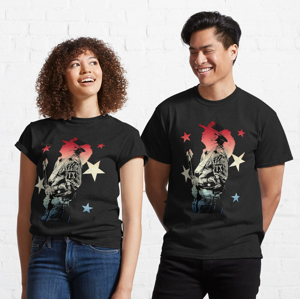 RED WHITE & TEXAS BLUES Classic T-Shirt