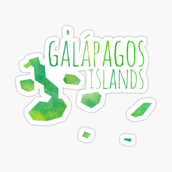 Galapagos Islands Sticker