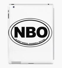 Naboo Destination iPad Case/Skin