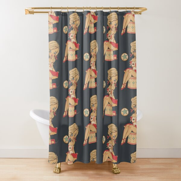 Come, Run away with me Shower Curtain