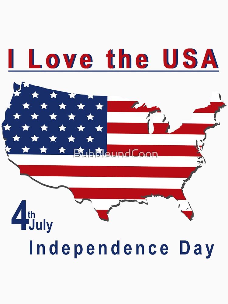 amerikanischer Unabhängigkeitstag von BubbleundCoon