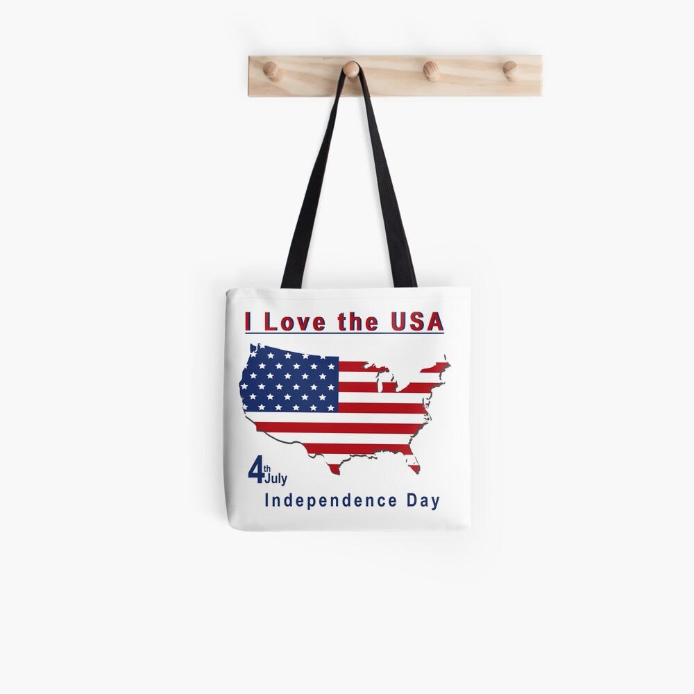 amerikanischer Unabhängigkeitstag Tote Bag