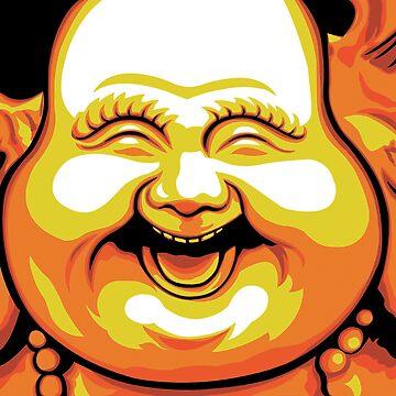 Laughing Buddha by trippitako