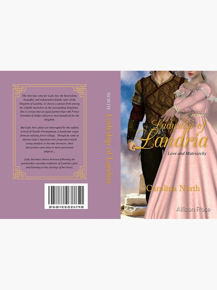 Ladyship of Landria Mock Hardcover by alliethewriter