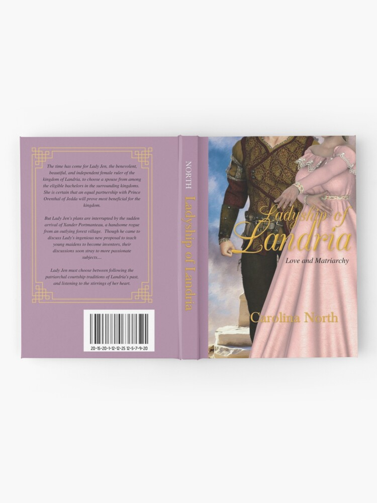 Alternate view of Ladyship of Landria Mock Hardcover Hardcover Journal