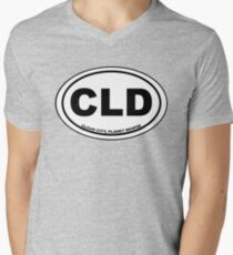 Cloud City Destination Men's V-Neck T-Shirt