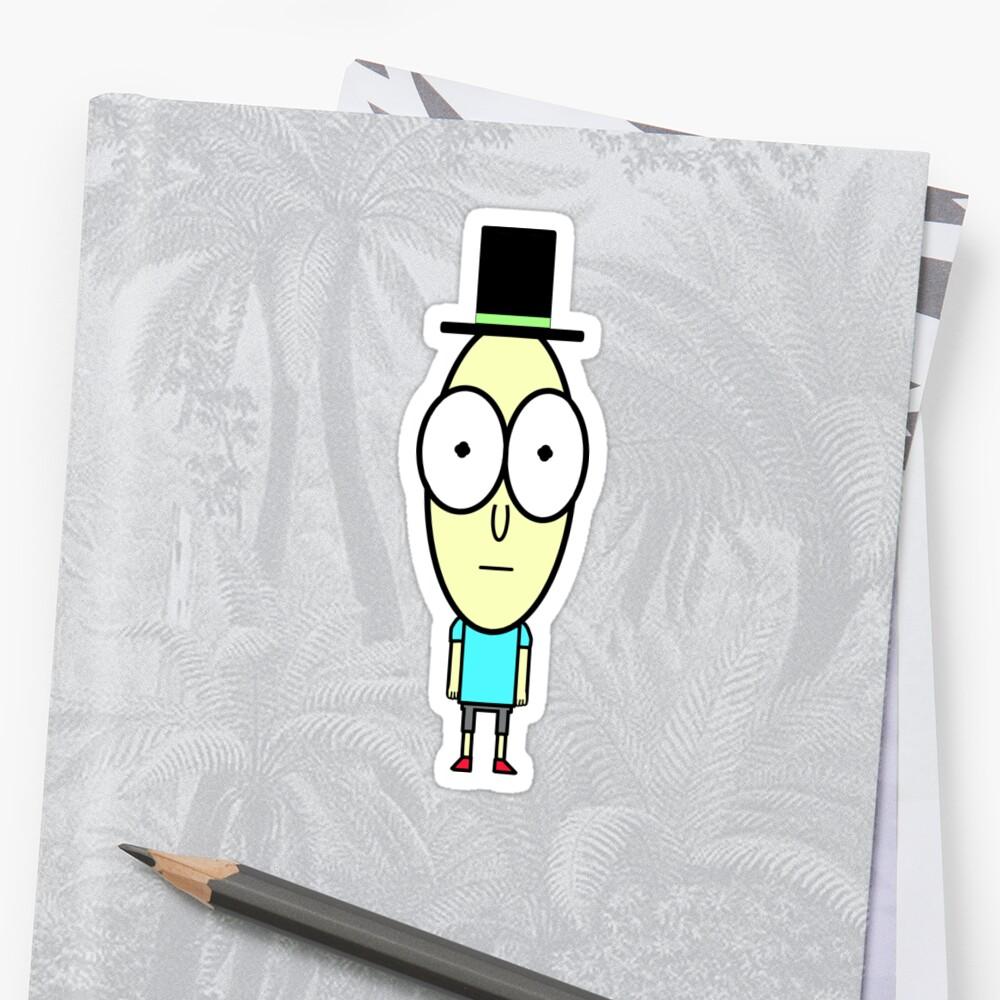 Mr. Poopy Butthole Sticker