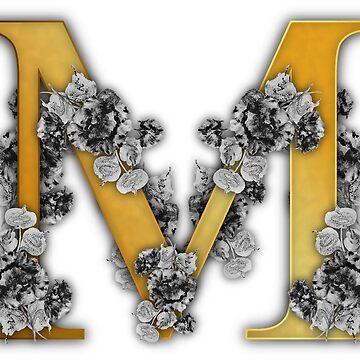 Alphabet - M by Belghazi