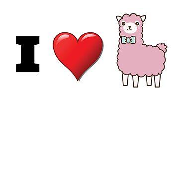 I love llamas by VentureDesign
