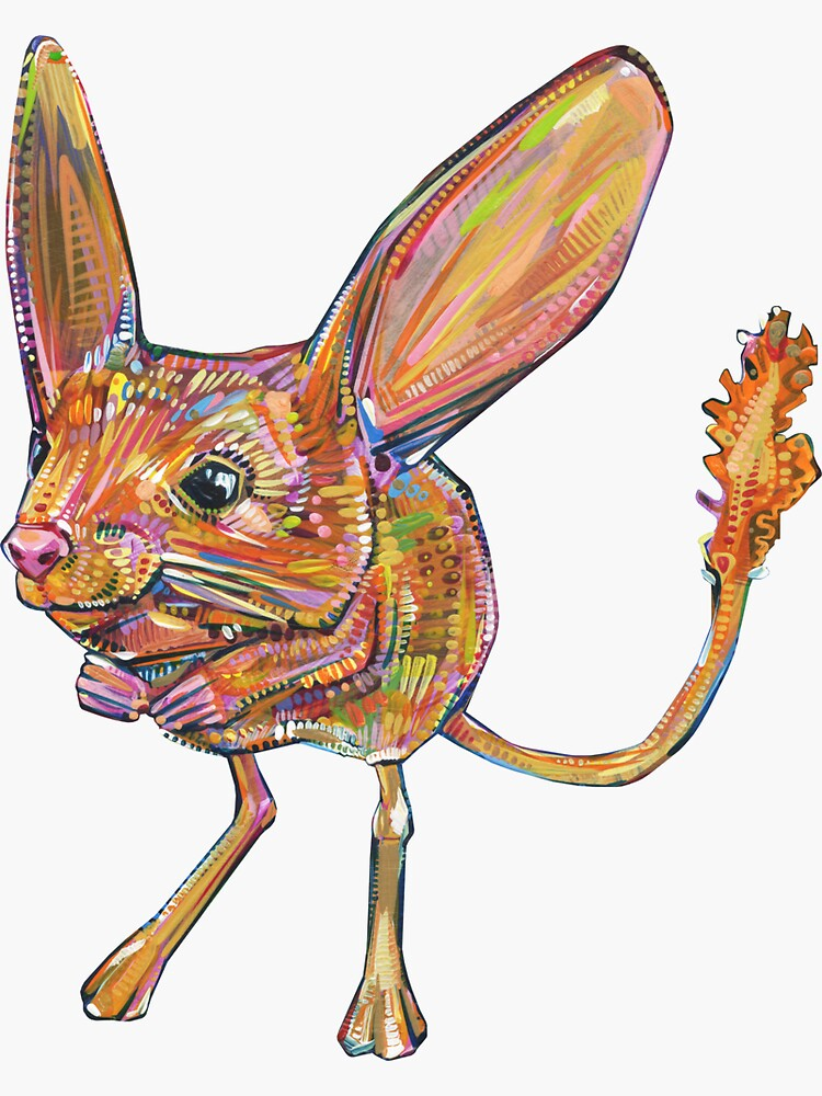 Jerboa Painting - 2018 by gwennpaints