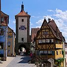 Rothenburg Ob Der Tauber by Lucinda Walter