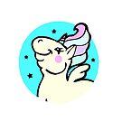 Fun Pastel Unicorn  by Ash Evans