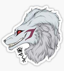 Sesshomaru dog demon Sticker