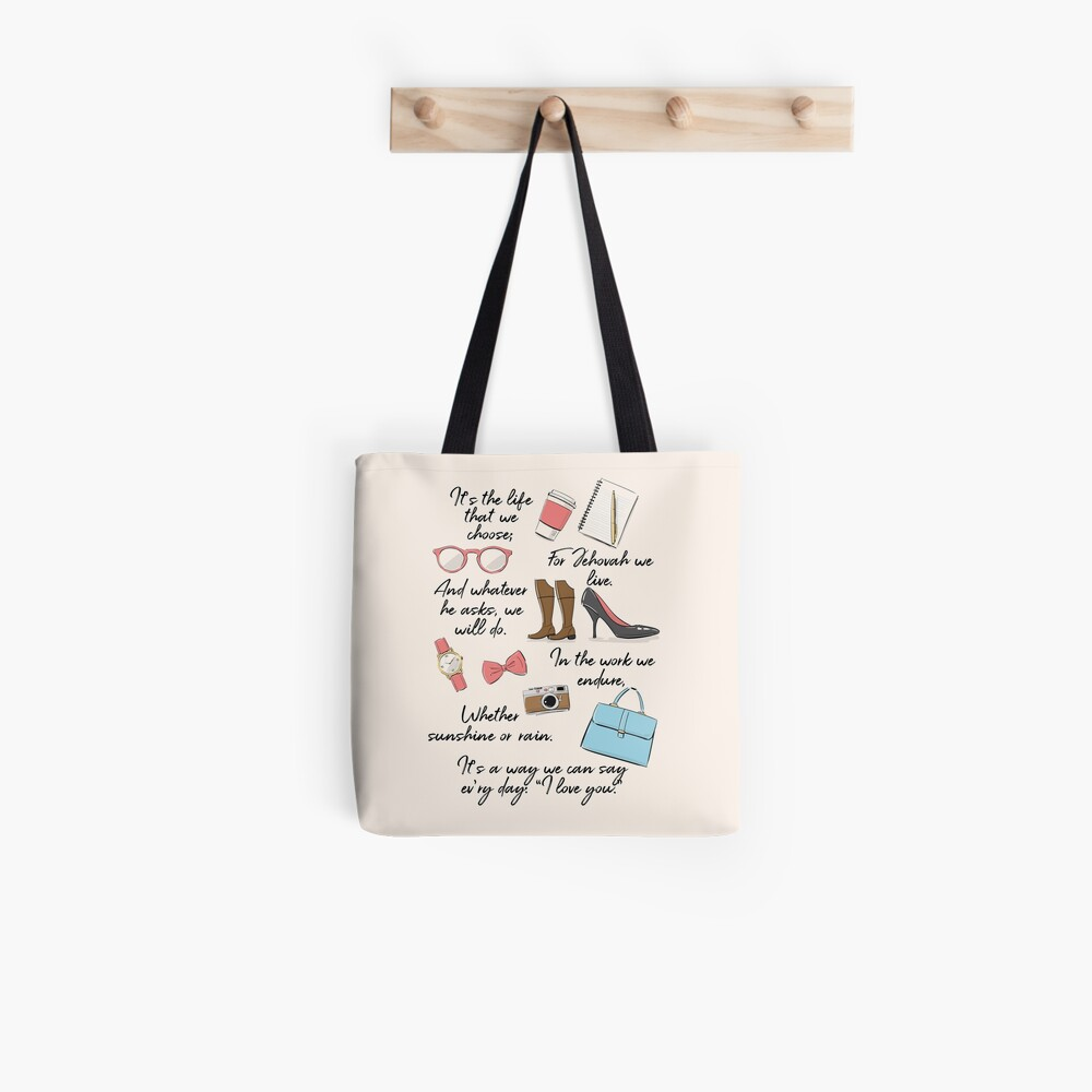 The Life of a Pioneer (For Her) Tote Bag