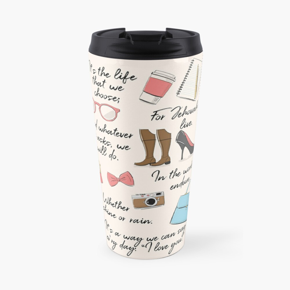 The Life of a Pioneer (For Her) Travel Mug