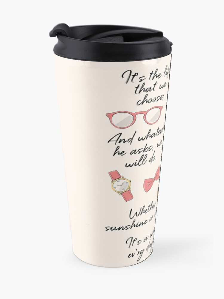 Alternate view of The Life of a Pioneer (For Her) Travel Mug